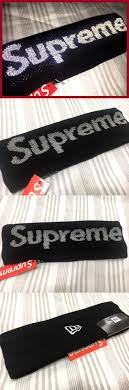 fila x supreme headband. other mens accessories 1060: new supreme york 3m reflective headband black box logo - fila x e