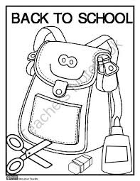 Small Picture 100 ideas Back To School Coloring Pages First Grade on kankanwzcom