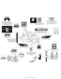troy bilt wvks bronco parts diagram for wiring schematic label map 13wv78ks011