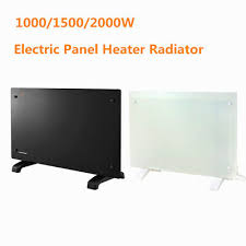 1000w electric glass panel convector heater radiator wall mounted