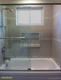bathtub shower combo best of tub shower tile surround with glass mosaic niche