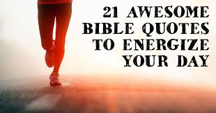 Bible Quote Of The Day Impressive 48 Awesome Bible Quotes To Energize Your Day ChristianQuotes