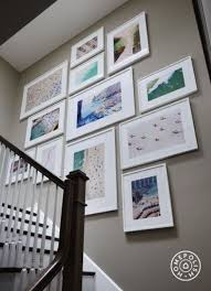 modern white picture frames. Modern White Frames For A Gallery Wall Picture