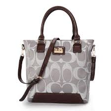Big Discount Coach Legacy Tanner In Monogram Small Grey Crossbody Bags BUJ  With Top Material Online
