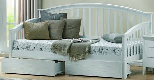 white daybed with drawers