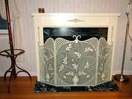 fireplace screen xcntricscom glass victorian screens small