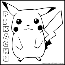Cute Pokemon Coloring Pages To Print Of Pikachu Wallpaper Free