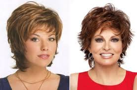 Svěží účesy Pro ženy Nad 40 Let Které Mají Kulatý Obličej