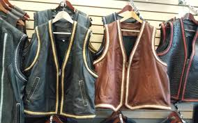 custom vest only available from adam s leather