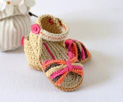 Free Crochet Patterns For Baby Sandals Unique Decorating Design