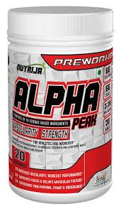 alpha peak front view