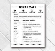 Simple Resume Template Simple Resume Templates 100 Examples to Download Use Now 77