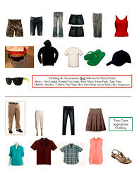 Dress code for teen court
