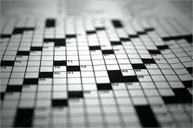 Blank Crossword Puzzle Template Free – Tangledbeard