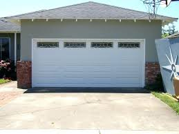 garage doors cost installed how much does it cost to install automatic garage door opener double