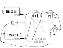emg wiring diagram schematics and wiring diagrams emg erless guitar wiring diagrams