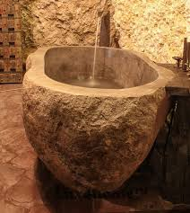 accessories foxy these are the most impressive natural stone bathtubs on handmade river bathtub