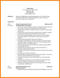 Tax Accountant Resume Objective Examples Entry Level Cpa Resume Objective 60 For Accounting Examples 53