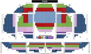 Tennessee Theatre Seating Chart Seating Chart