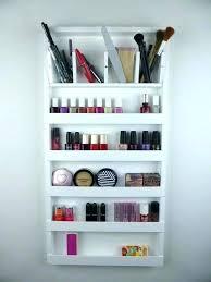 nail polish display rack nail polish organizer wall rack wall rack organizer white make up organizer nail polish display
