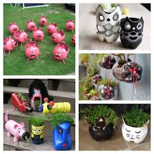 Decorated Plastic Bottles 100 Crafts made of plastic bottles for the garden Simple and 86