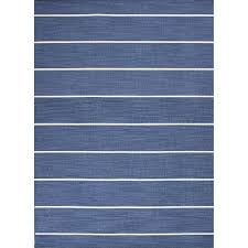 jaipur rugs coastal ss 10 x 14 flat weave wool rug in blue