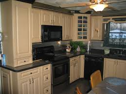 Kitchen:Modern Country Kitchen Cabinets And Countertops Design With Granite  Material And Contemporary Pendant ELegant
