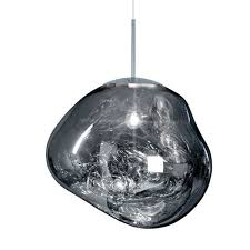 tom dixon melt pendant chrome large