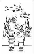 Small Picture Fish Tank Coloring Page Free Coloring Pages On Masivy World