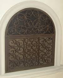 custom fireplace screens fireplace accessories