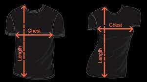 Online Shirt Size Chart Shirt Size Chart Angelus Apatrida Online Store