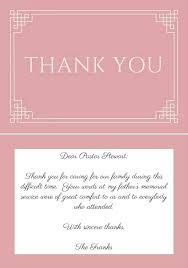 Thank You Cards Design Your Own Design Your Own Memorial Cards Tomoc Co