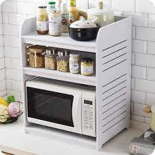 A1 mikrodalga fırın rafı ahşap fırın raf mutfak baharat rafı mutfak  malzemeleri tezgah depolama rafı wx9031605 Wall Mounted Kitchen Racks