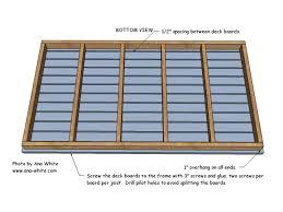 Attach the Deck Boards