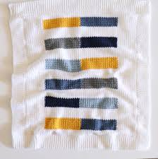 Mesh Stitch <b>Colorful Stripe</b> Crochet Blanket | Daisy Farm Crafts