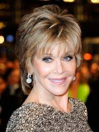 highlighted hairstyles for 70 age women