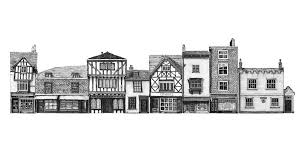 Perfect Architectural Drawings Of Famous Buildings Street U And Simple Ideas
