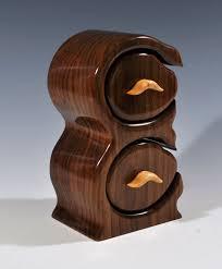 cool bandsaw box. walnut jewelry or trinket bandsaw box by silverfoxwoodstudio, $245.00 cool