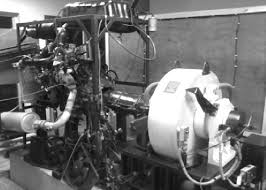 Tata DICOR CRDI test engine coupled with eddy current dynamometer ...