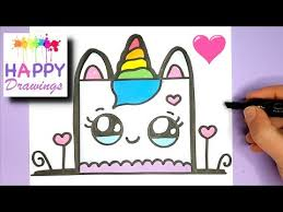 How To Draw A Cute Birthday Cake Easy Videosfitcom