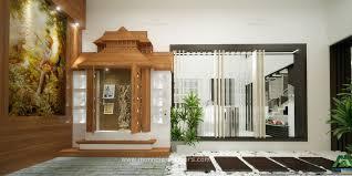 Pooja Room In Living Room Designs Pooja Room Interior In Kochi Kerala Monnaie Architects