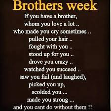 I Love My Brother Quotes Interesting The Love For A Brother Quotes Feat Brother Sister Quote For Create