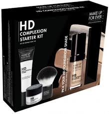 mac makeup kit look flawless with the make up for ever hd plexion starter kit