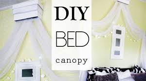 Bed Canopy Diy Diy Bed Canopy Youtube