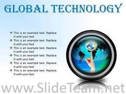 Global Technology Globe Powerpoint Presentation Slides Cc Powerpoint