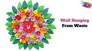 best out of waste cardboard foam sheet wall hanging diycrafts india 161 on foam sheet wall art with best out of waste cardboard foam sheet wall hanging