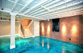 painted concrete floors in basement how to paint concrete floor g s my basement painting floors pictures