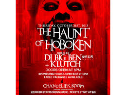 haunt of hoboken at chandelier room inside w hotel