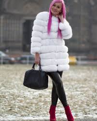 fur fur fur wherever you look there is someone wearing a beautiful fur coat or vest
