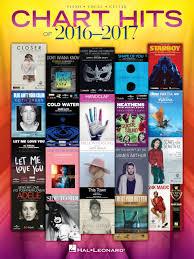 Chart Hits Of 2016 2017 Hal Leonard Online